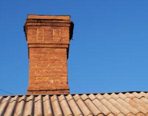 masonry chimney